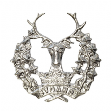Gordon Highlanders Re-strike Cap badge